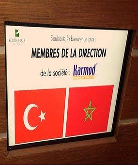 Látogatás Koutoubiába, aki az óriás Marokkó élelmiszergyártót tartotta
