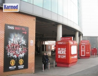 Kiosz UK ''Manchester Old Trafford'' és Camp Nou stadion
