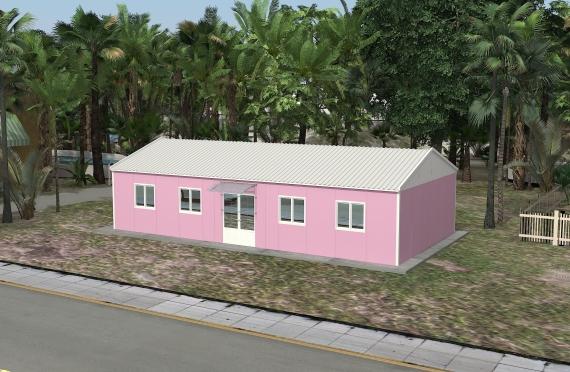 Moduláris irodaház 415 m²