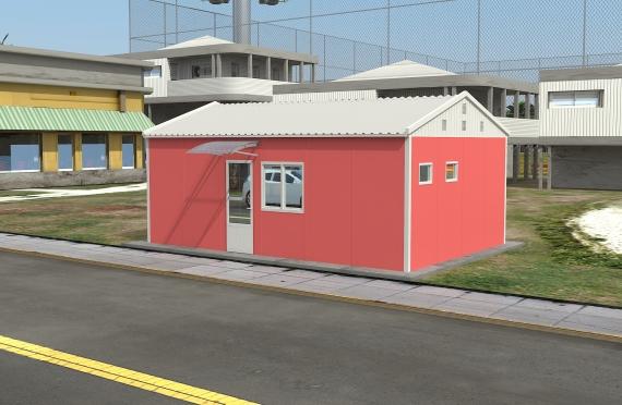 Moduláris irodaház 49 m²