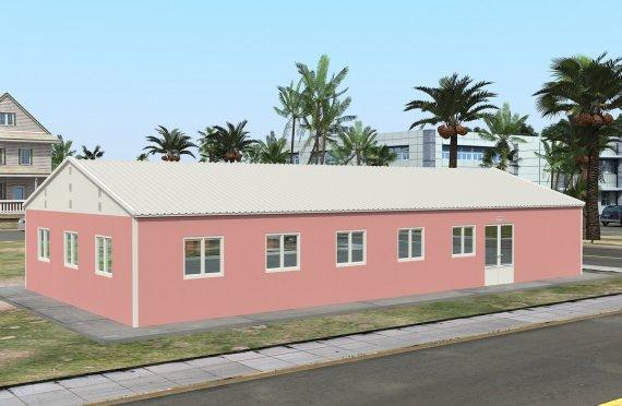 Előregyártott Kereskedelmi Konyha 170 m²
