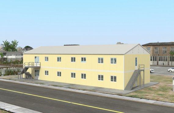 Előregyártott Kereskedelmi Konyha 576 m²