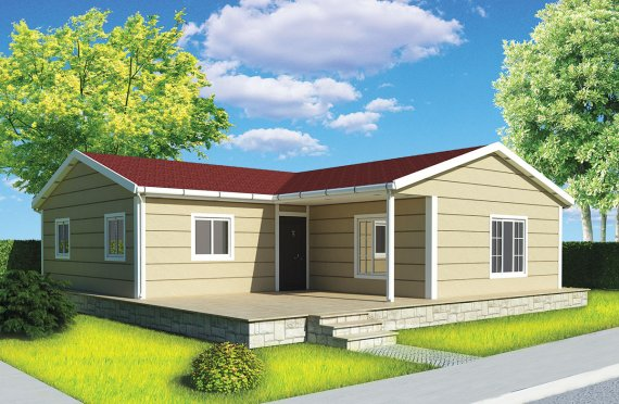 Előregyártott Ház 102-m2