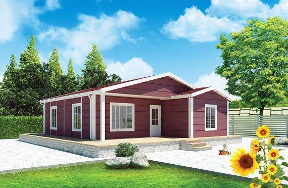 Előregyártott Ház-88-m2