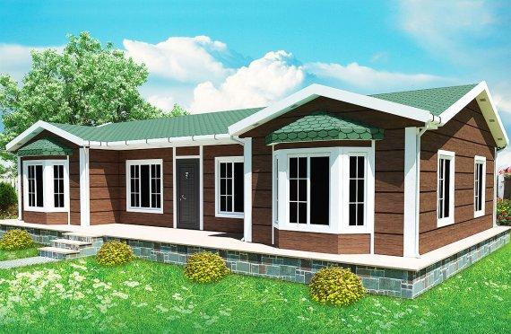 Előregyártott Ház-97-m2