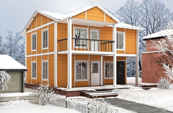 Előregyártott Ház -112 m2