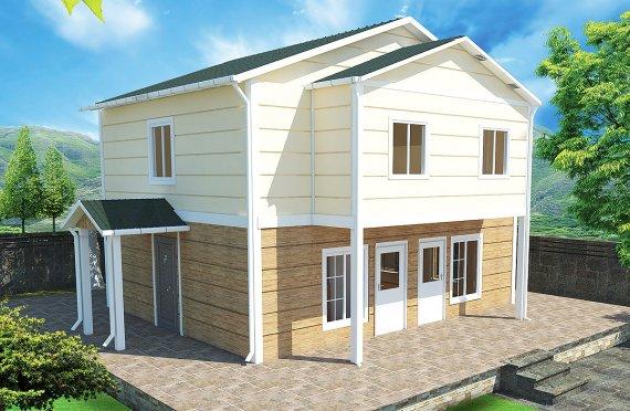 Előregyártott ház 114 m2