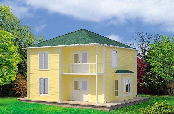 Előregyártott ház 124 m2