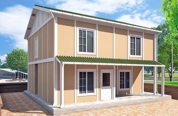 Előregyártott ház 127 m2