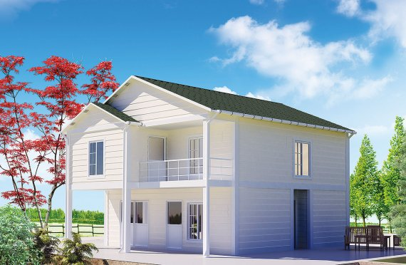 Előregyártott ház 130 m2