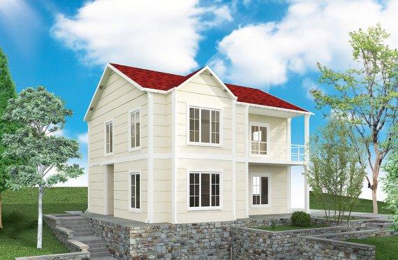 Előregyártott Ház 132 m2