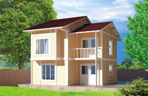 Előregyártott Ház 91 m²