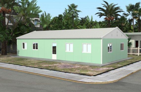 Hordozható Tantermek 117 m²