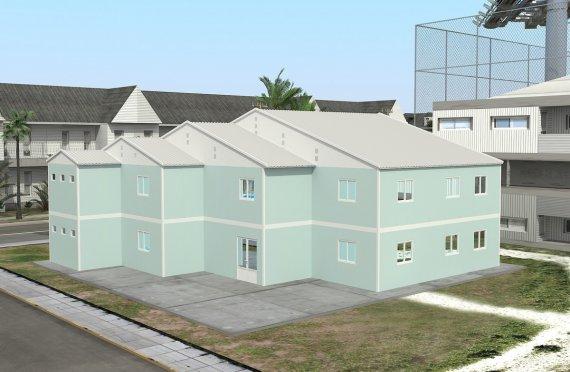 Hordozható Tantermek 508 m²