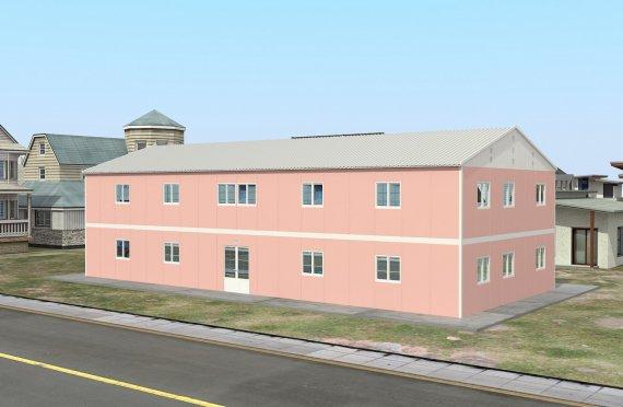 Hordozható Tantermek 480 m²