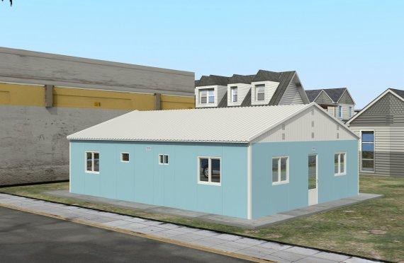 Moduláris Szállásegység 102 m²