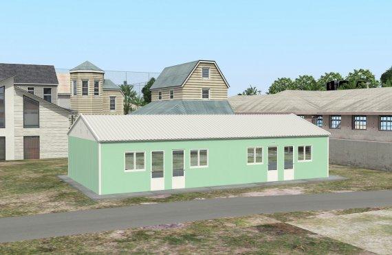 Moduláris Szállásegység 117 m²