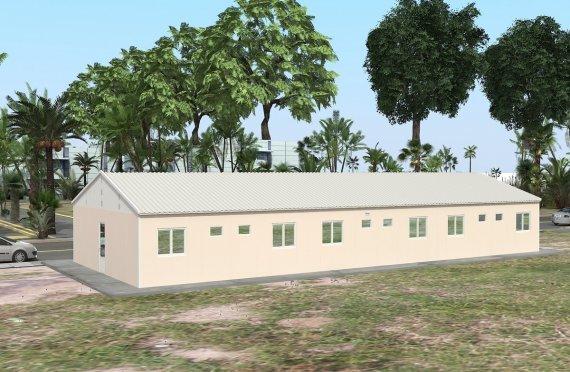 Moduláris Szállásegység 204 m²