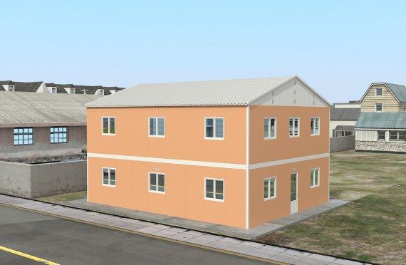 Moduláris Szállásegység 206 m²