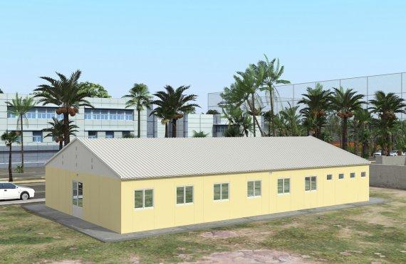 Moduláris Szállásegység 232 m²
