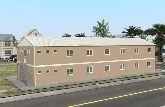 Előregyártott Kollégium 474 m²