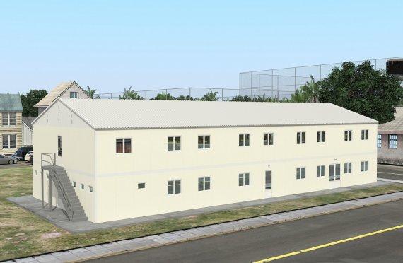 Moduláris Szállásegység 662 m²