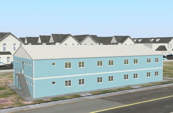 Moduláris Szállásegység 736 m²