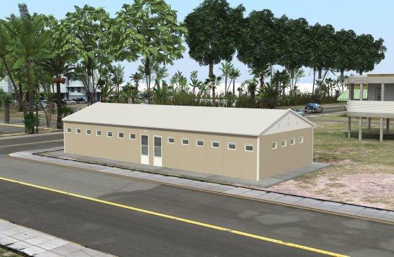 Előregyártott WC & Zuhanyzó 145 m²