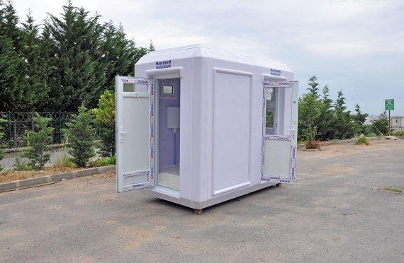 150x270 Hordozható WC és Biztonsági Kabin