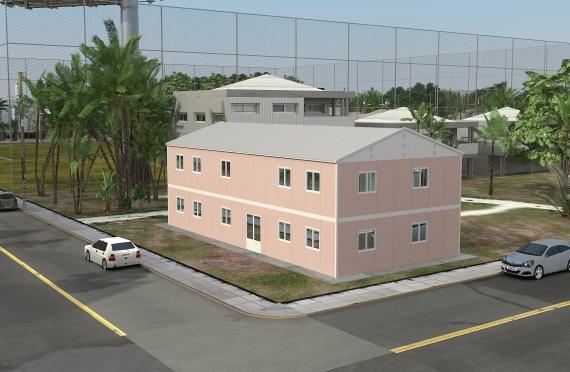 Moduláris Irodaház 340 m²
