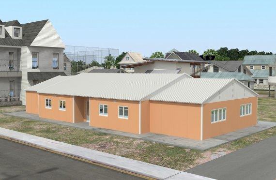 Hordozható Tantermek 272 m²