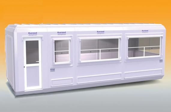 270x750 cm  Kabin