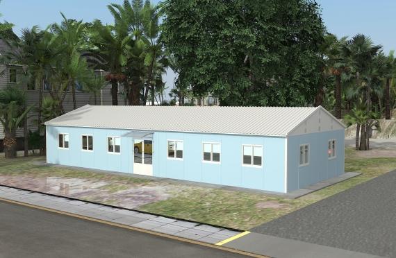 Moduláris irodaház 146 m²