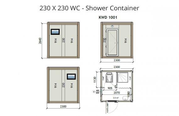 KW-230x230-wc-Zuhanyzó-Konténer
