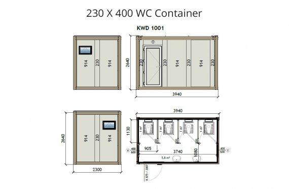 KW4-230x400 Konténer