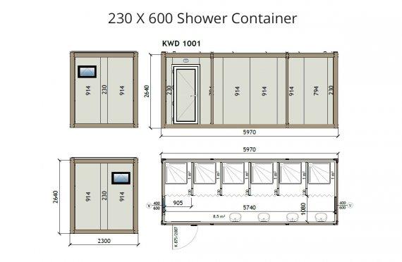 KW6-230x600Zuhanyzó Konténer