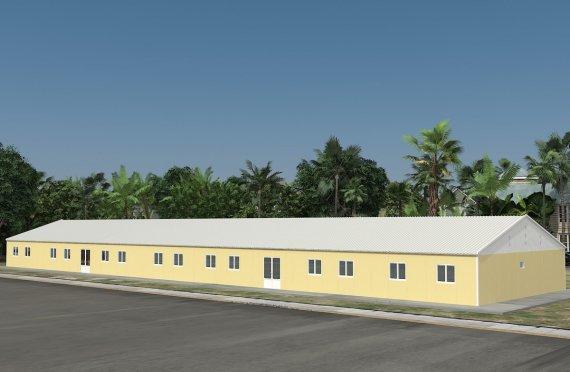 Hordozható Osztályterem 681 m²