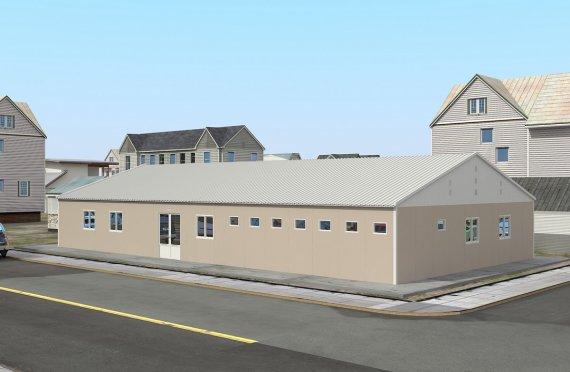 Moduláris Kórházi-275 m²