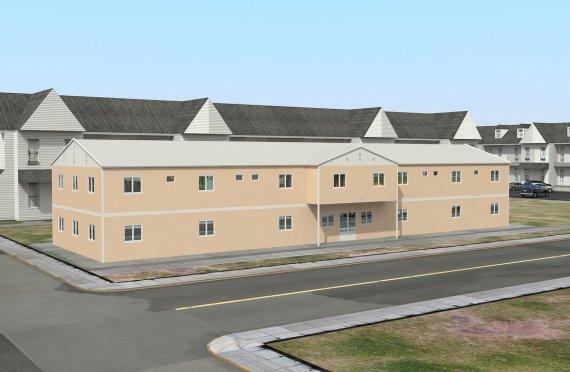 Moduláris Szociális Létesítmény-793 m²