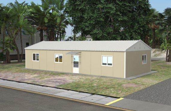 Moduláris irodaház 90 m²