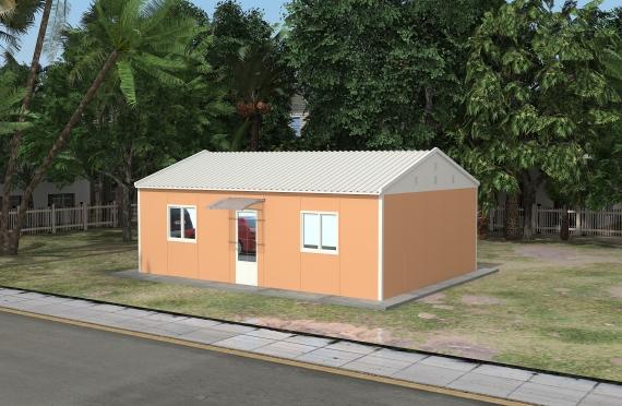 Moduláris irodaház 58 m²