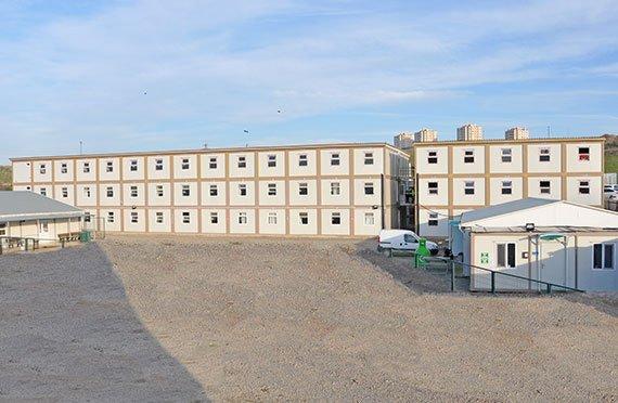 Építkezésihely és Iroda Konténerek