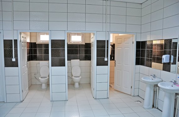 Előregyártott WC & Zuhanyzó Épületek