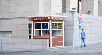 Karmod modern biztonsági kabinok az Isztambul Igazságügyi Palotában