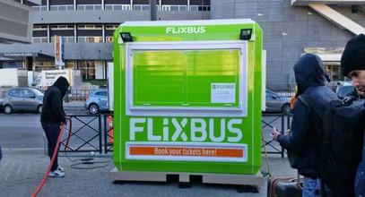 Flixbus jegyiroda a Karmod