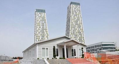 A Monumento értékesítési és információs irodaház Kartal befejeződött