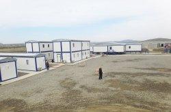 Előregyártott épületek Shahdeniz-2 projekt számára Azerbajıan
