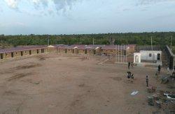 Karmod Nigérián az előregyártott katonái létesítmény épített