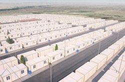 Konténer ház projekt a szíriai menekültek számára