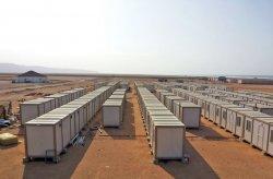 Építkezési helyeket állítottunk fel a guineai aranybányászok számára